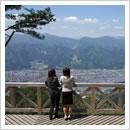 安峰山頂上からの眺め