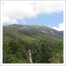 寺地山から望む北ノ俣岳(6月)