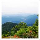 天蓋山流葉方面と小萱(10月)