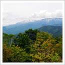 天蓋山北ノ俣と薬師岳(10月)
