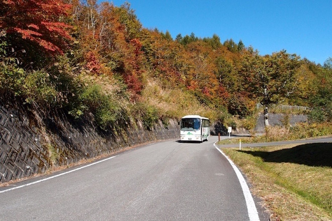 天生の森シャトルバス